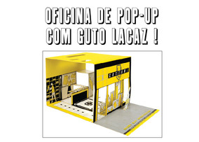 oficina de pop up com guto lacaz