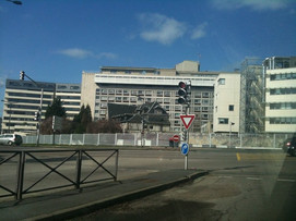 Batiment Deve 2 do CHU Charles Nicolle a Rouen