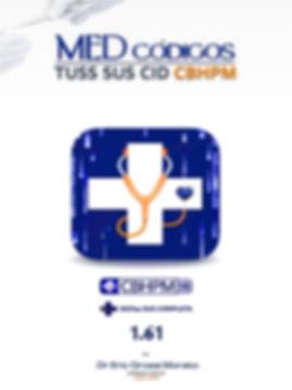 Splash image aplicativo edodigos tuss sus cid cbhpm 76 tabelas as um só aplicativo