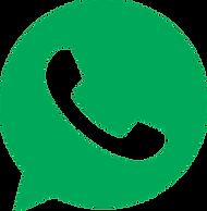 Ícone do WhatsApp, um balão verde com um telefone branco no centro.