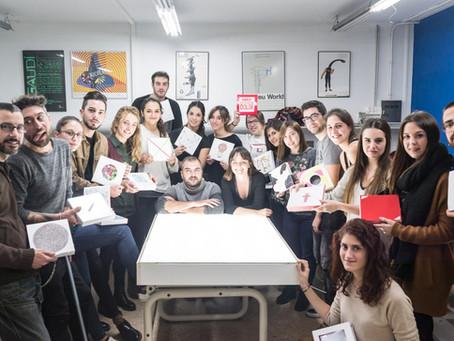 Procesos creativos colaborativos en EASD Abella y Serra.