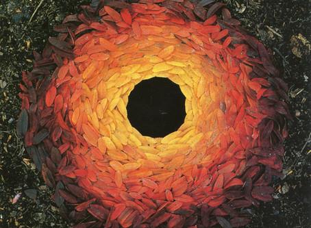 El arte efímero de Andy Goldsworthy