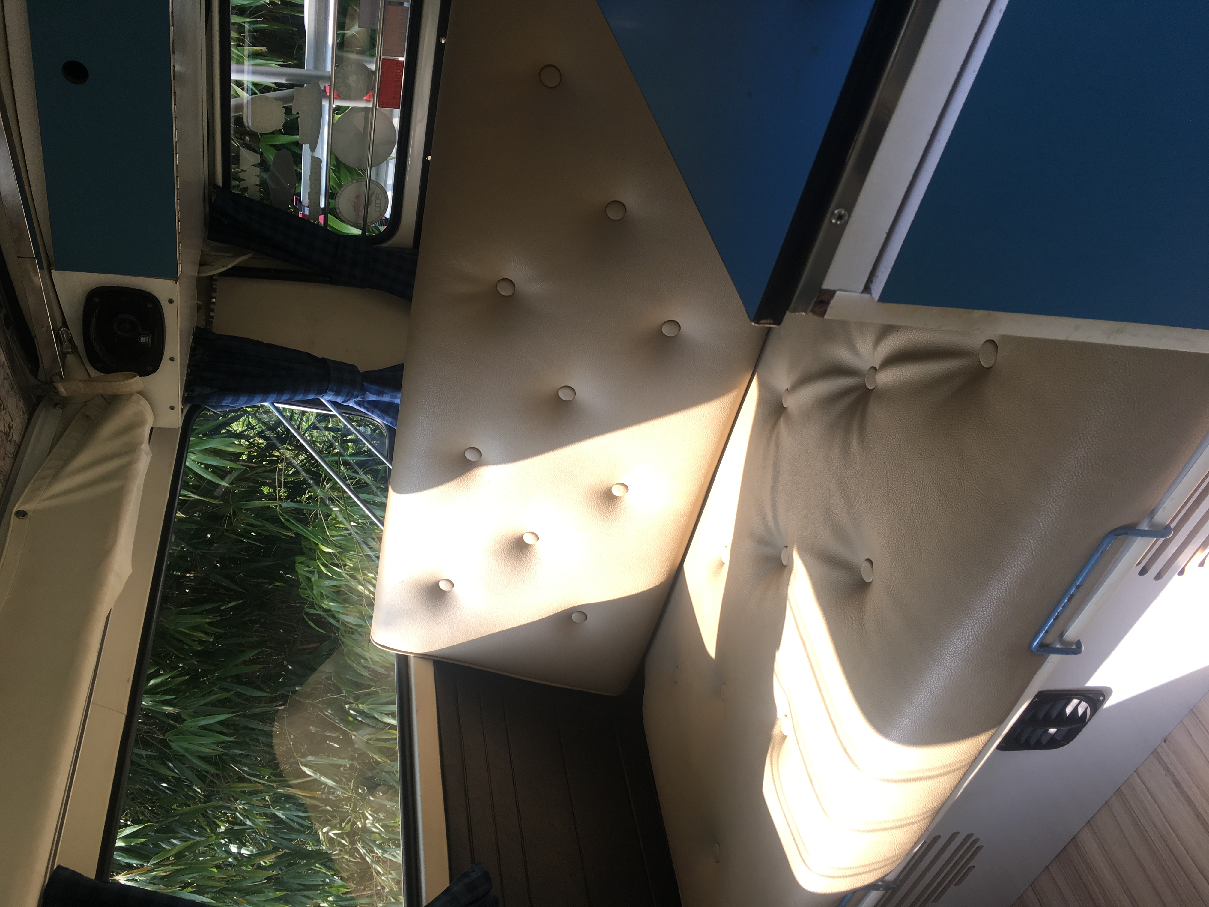 Rear seat/bed