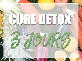 Cure Détox 3 jours
