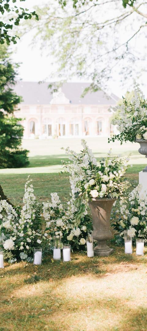 Destination Wedding Planner France - Chateau wedding ceremony