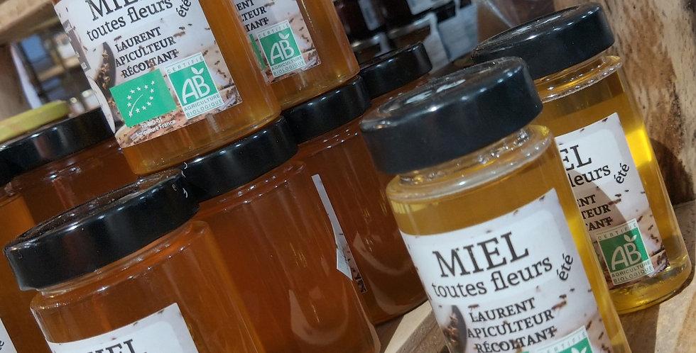 Miel de cure bio, propolis et gelée royale 500 g
