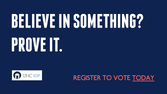Register to vote! // UNC Institute of Politics