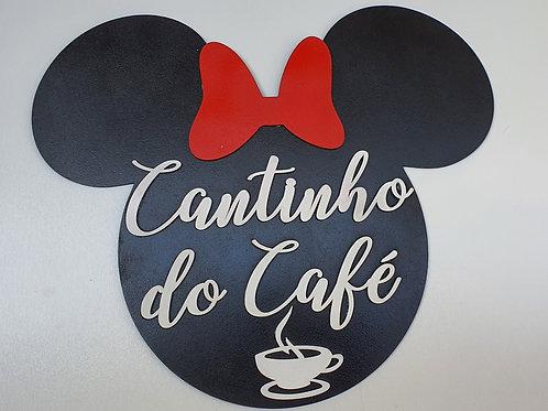 Cantinho Do Café Minnie Mdf