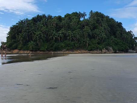 Santos-SP - Ilha Urubuquecaba