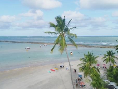 Praia de Carneiros - uma das mais lindas do Brasil