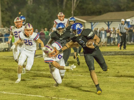 Conquerors Advance to State Semifinal with 34-7 Win Over Bolles