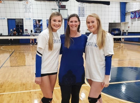 Volleyball: Conquerors Give Milligan, Combs Victory on Senior Night