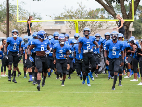 Varsity Football: Conquerors Win Preseason Game 44-6 Over Terry Parker