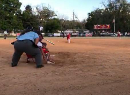Softball: Smith, Burnett Power Conquerors to District Win over Baldwin