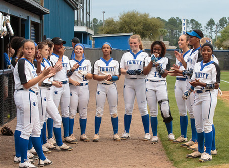 Varsity Softball: Conquerors Win District Game 16-0 over Bishop Snyder