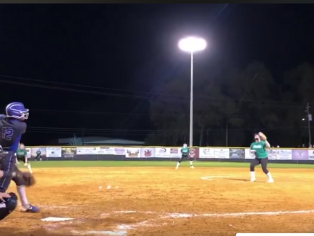Varsity Softball: Ross Homers in Conquerors' Big Night at Suwannee