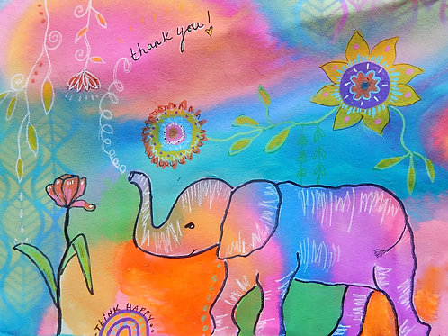 *New* Happy Elephant