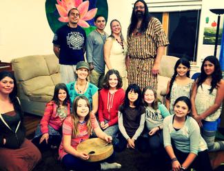 Native Americans Shaman Visit