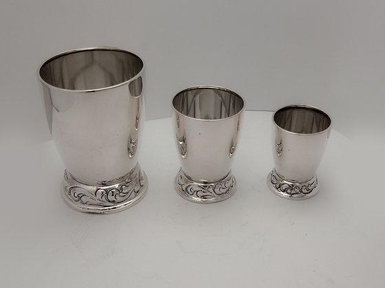 Tre flotte sølvbegere