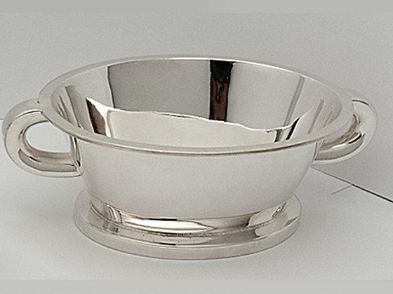 Sukkerskål i sølv