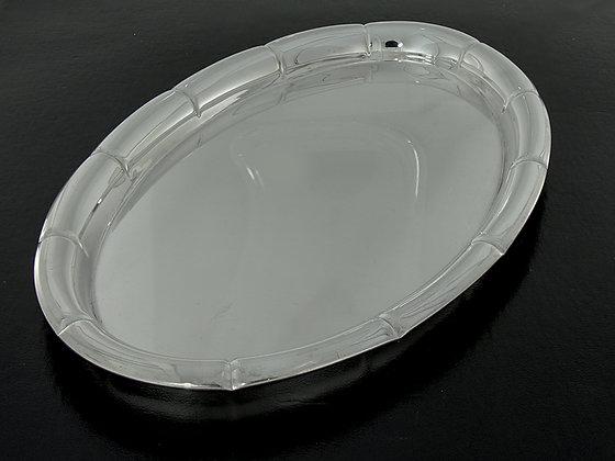Lite serveringsfat i sølv