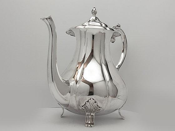 Nydelig kaffekanne i sølv fra David-Andersen
