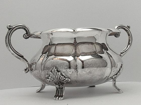 Flott sukkerskål i sølv fra David-Andersen