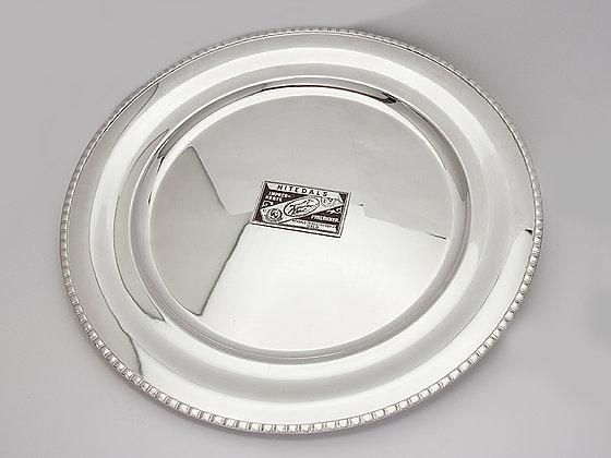 Flott sølvfat fra TH. Marthinsen - m/ dekor