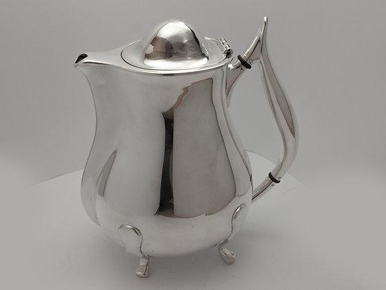 Spesiell kaffekanne i sølv fra David-Andersen