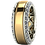 Thumbnail: 18K custom wedding rings