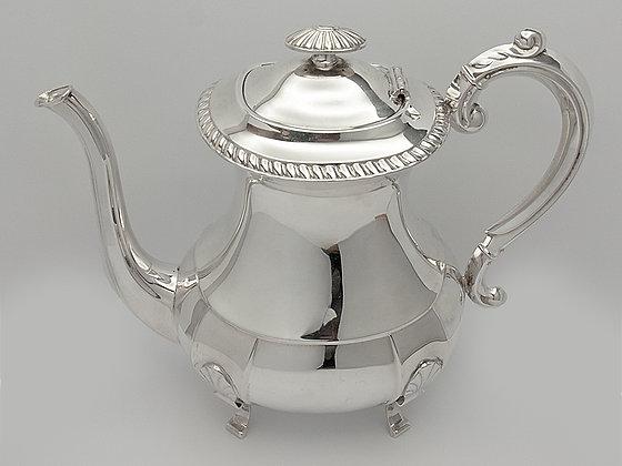 Kaffekanne fra David-Andersen i 925 sølv