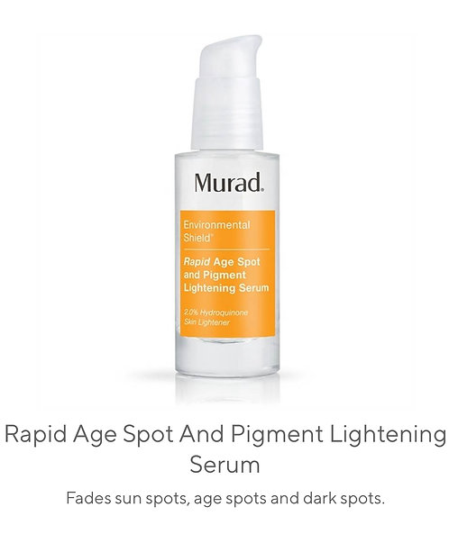 Rapid Age Spot & Pigment Lightening  Serum