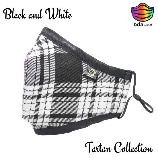 Tartan Black & White