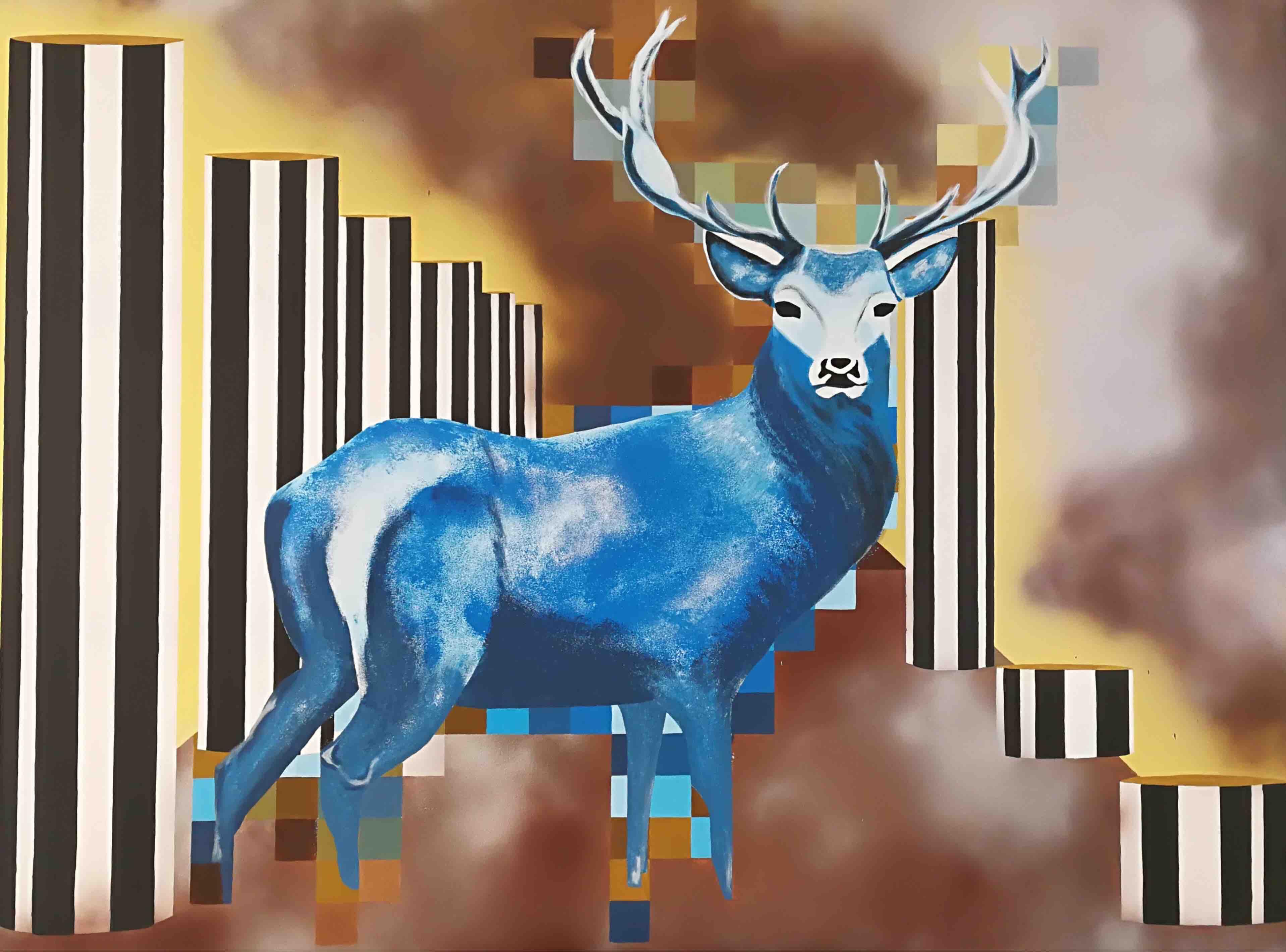 The deer - 63' X 47'