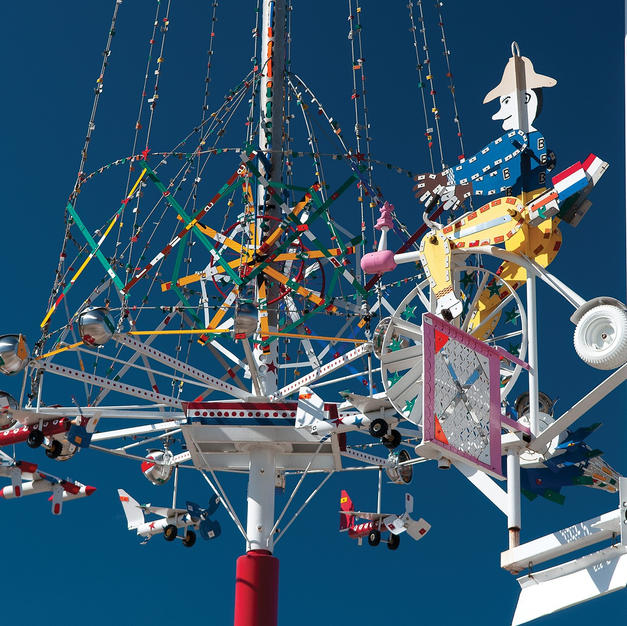 Whirligigs and BBQ in Wilson, NC