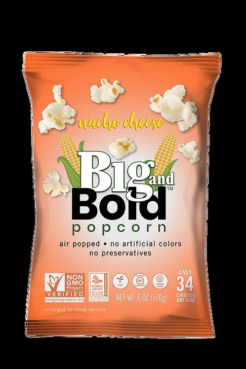 Big & Bold Popcorn - Nacho Cheese 6oz - Case of 6