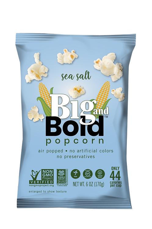 Big & Bold Popcorn - Sea Salt 7oz - Case of 6