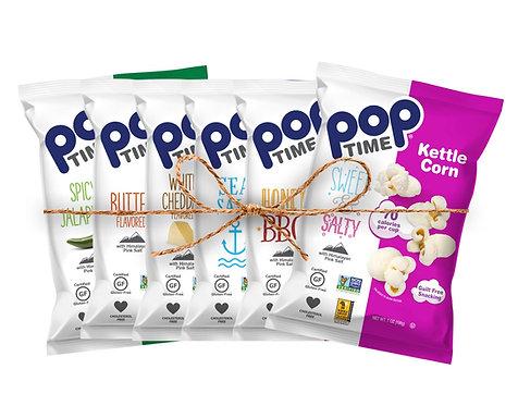 Poptime Big Bag Variety Pack - Case of 6