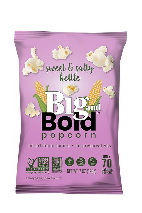 Big & Bold Popcorn - Sweet & Salty 7oz - Case of 6