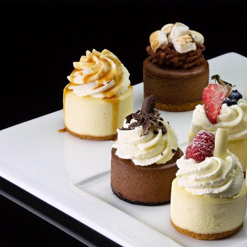 Mini Cheesecake Sampler