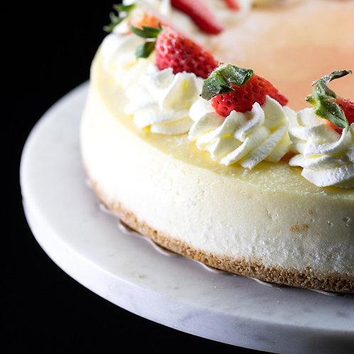 """""""Classic"""" Vanilla Cheesecake"""