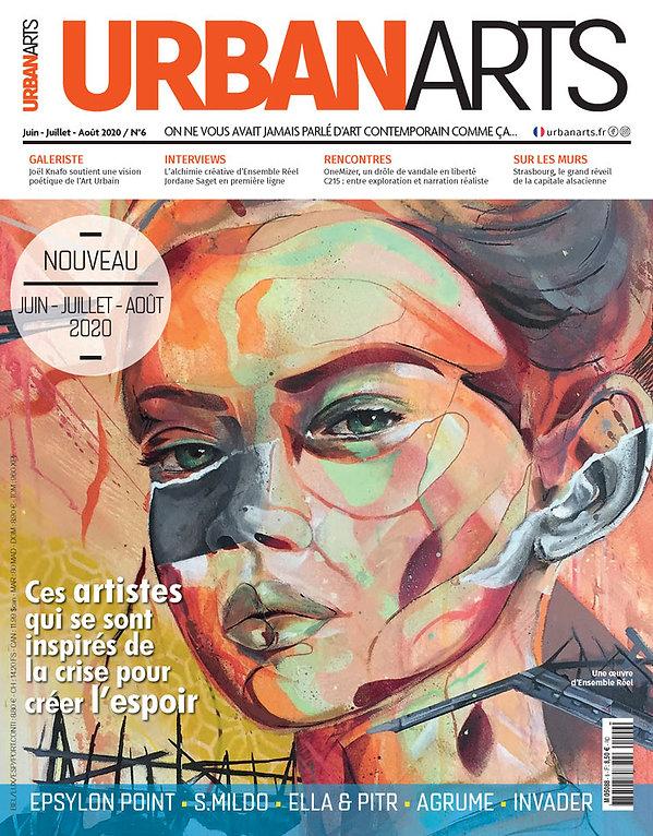 Couverture magazine Urban Arts