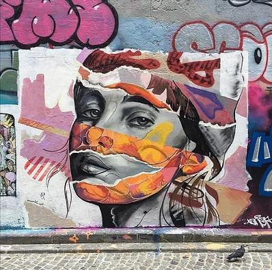 Mur Ensemble Réel - rue d'Aix Paris 10èm