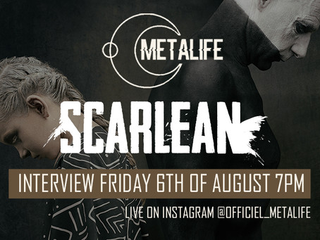 Live Interview for Metalife 6th of August 7PM