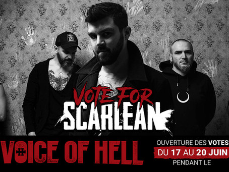 Vote for SCARLEAN / The Voice Of Hell 17th to 20th of June