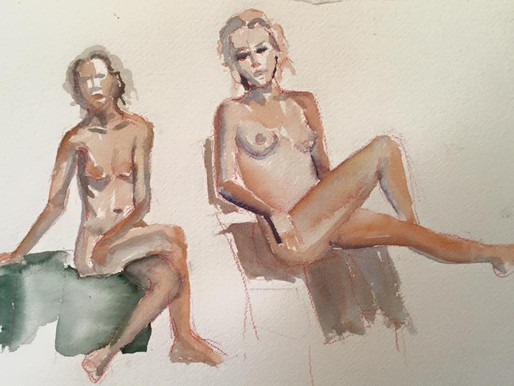 What's It Like to Be An Art Nude Model?