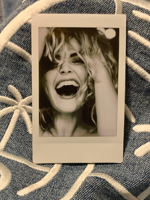 Smile With Me Polaroid Print by Girl_Girl Photography