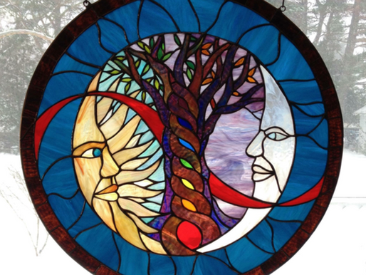 My Stained Glass Piece
