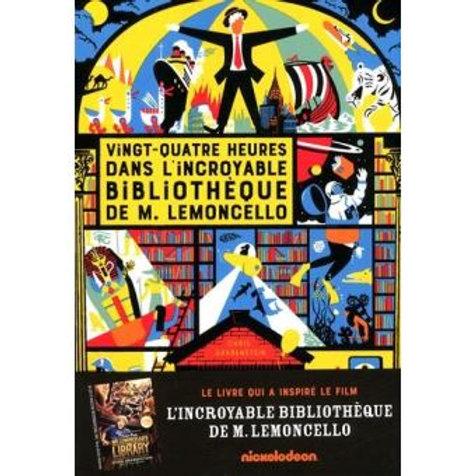24h dans l'incroyable bibliothèque de M.Lemoncello