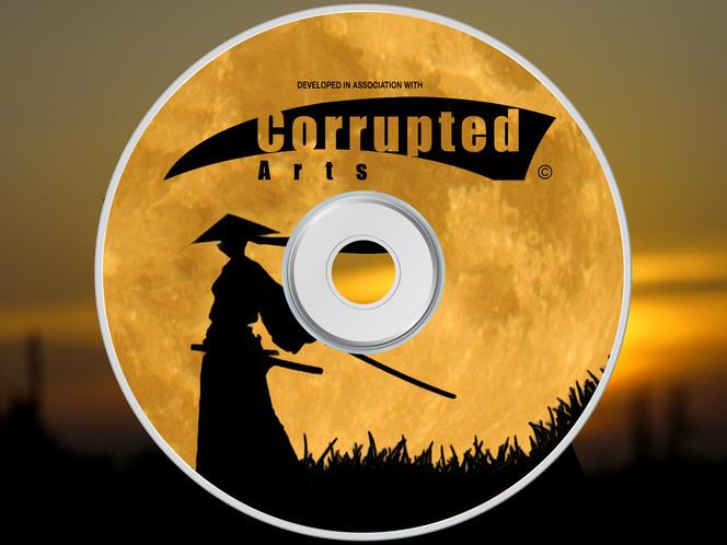 Corrupted Arts Disc Logo